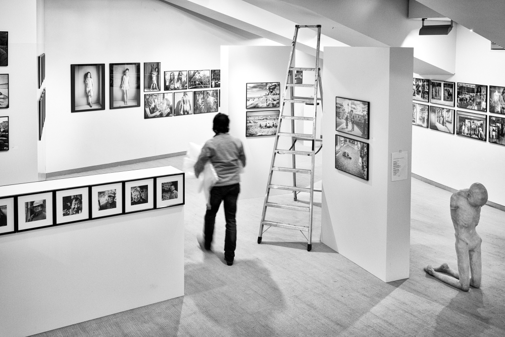 The (after)birth of an exhibition (8). (1/6)